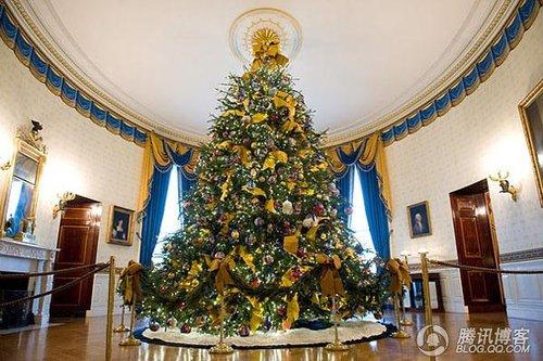 今年的白宫圣诞树长啥样